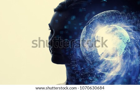 AI (Artificial Intelligence) concept. #1070630684