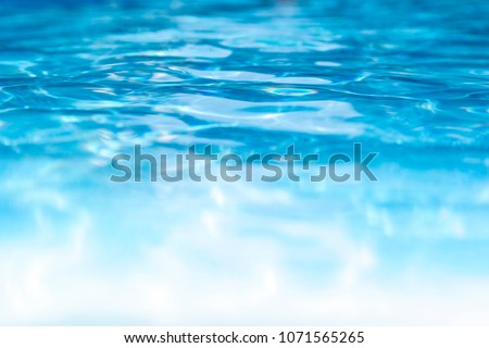 blue and white pool water background