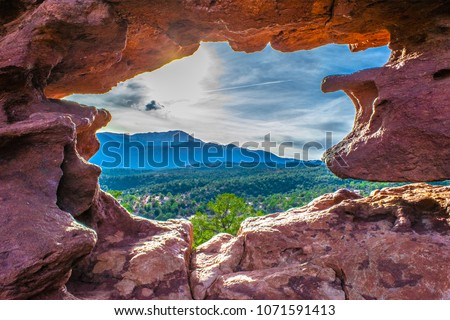 Garden of the Gods in Colorado #1071591413
