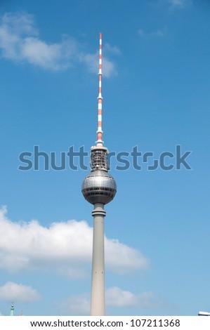 TV tower in Berlin #107211368