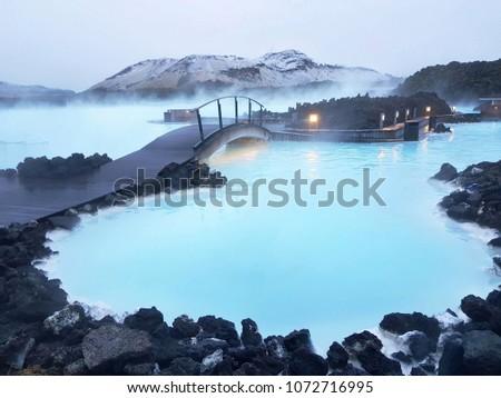 Blue lagoon Iceland  #1072716995