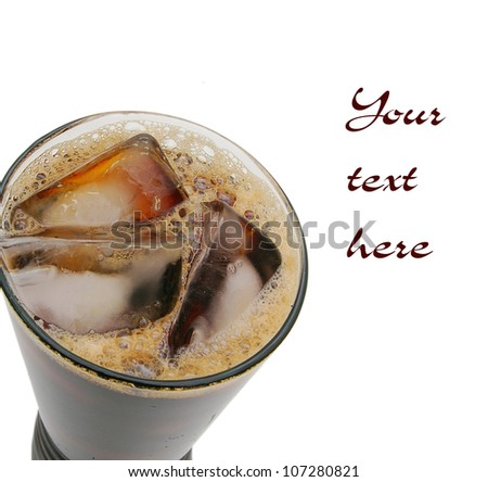 Vietnamese iced coffee #107280821
