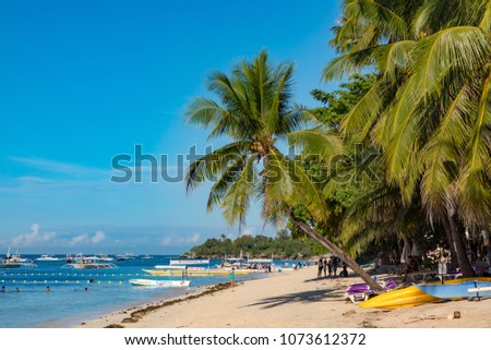 Alona Beach
