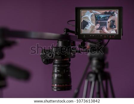 Filmmaking video editing & color grading.