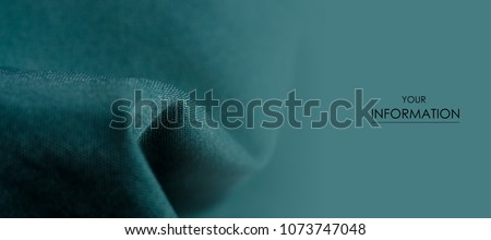 Green cloth clothing texture material textile macro pattern blur background Royalty-Free Stock Photo #1073747048