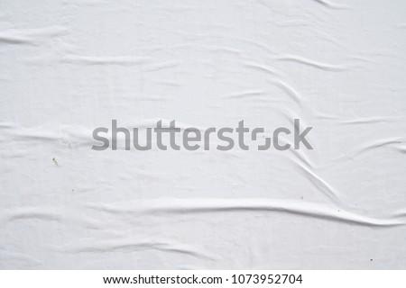 white original authentic street poster texture background  Royalty-Free Stock Photo #1073952704