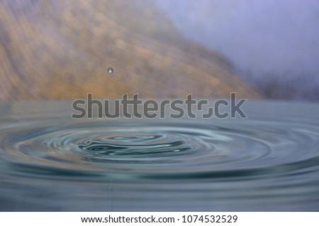 Splahs of clean water #1074532529
