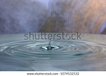 Splahs of clean water #1074532532