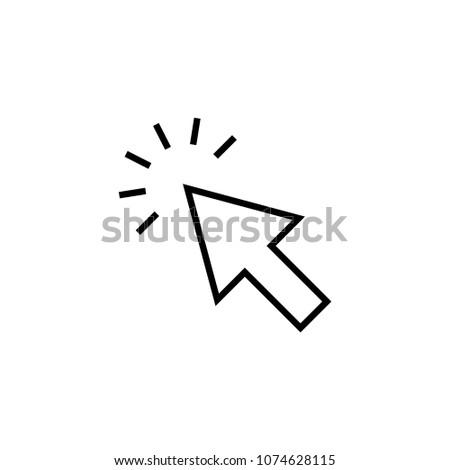 click arrow icon #1074628115