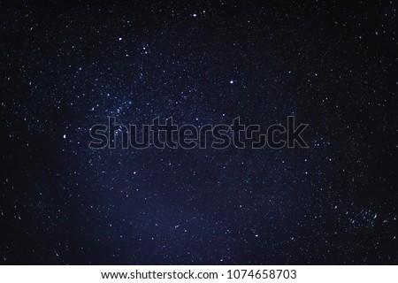 Night starry sky background #1074658703