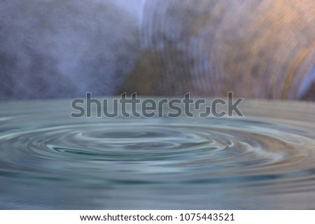 Splahs of clean water #1075443521