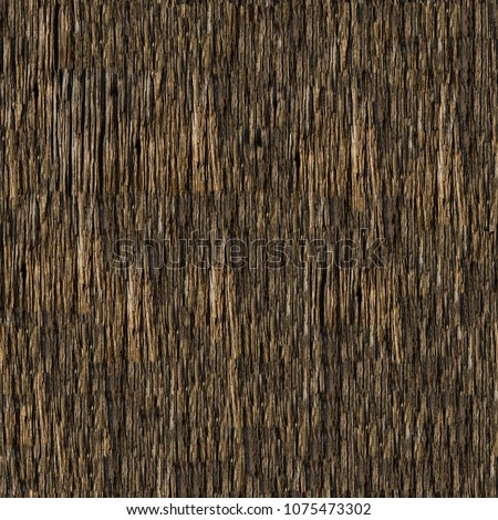 Seamless bark tree texture. #1075473302