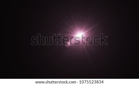 Digital Galaxy lens Flare , light leaks , Abstract overlays background. #1075523834