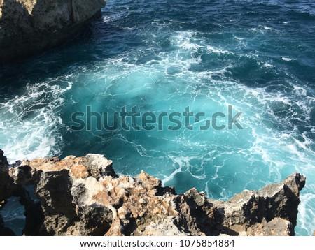 Ocean landscape travel lifestyle vacation #1075854884