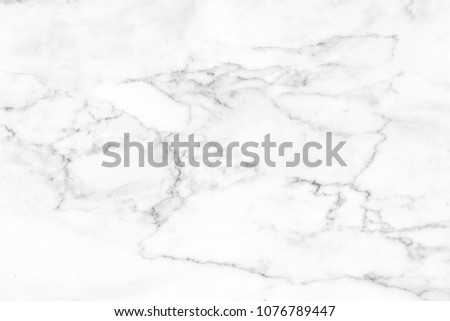 Abstract white natural marble texture background High resolution or design art work,White stone floor pattern for backdrop or skin luxurious.gray ceramic for interior or exterior design background. #1076789447