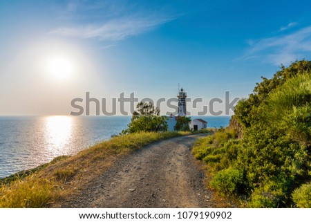 Sarpincik Lighthouse in Turkey #1079190902