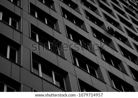 Office Building Windows #1079714957