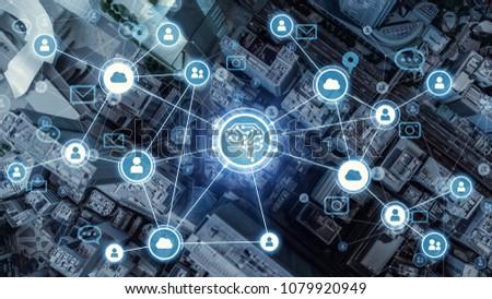 AI(Artificial Intelligence) concept. #1079920949
