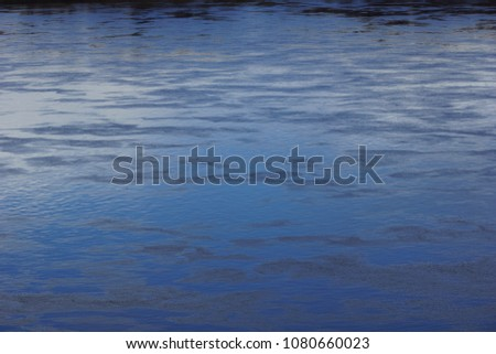 spring water texture full-flowing river #1080660023