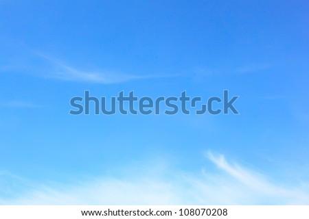 Elegant blank sky background