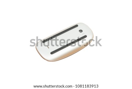 Computer mouse(bottom side) isolated on a white background #1081183913