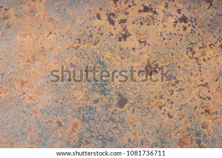 Background texture of Rusted steel #1081736711