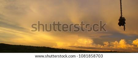 Sunset in Butiama #1081858703