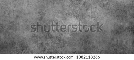 Closeup of textured grey concrete wall #1082118266