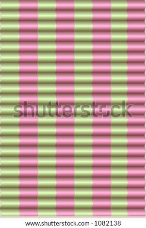 pink & green preppy blinds