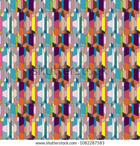 Abstract color seamless pattern for new background. #1082287583