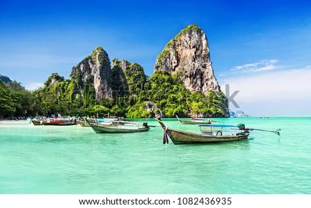 thailand sea beautiful #1082436935