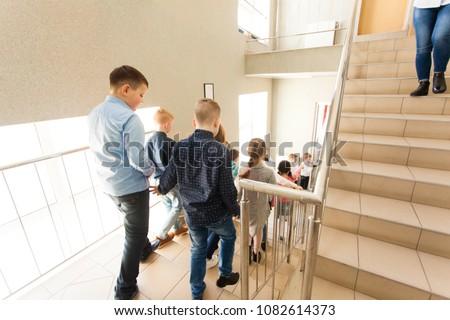 Pupils going on break #1082614373