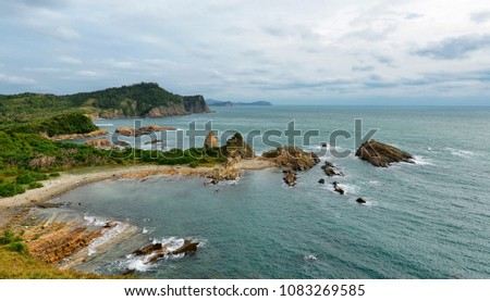 View of the seashore in Co To island, Vietnam Royalty-Free Stock Photo #1083269585
