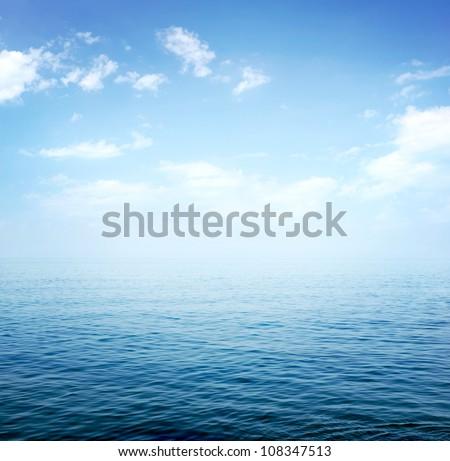 Blue sea #108347513