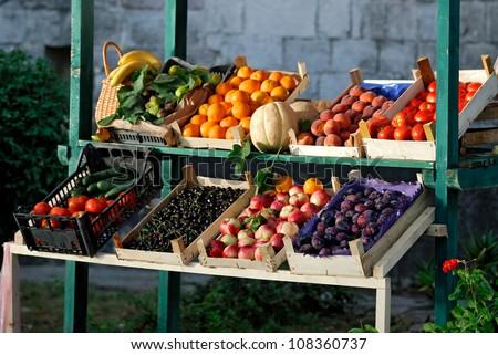 Farmers market #108360737