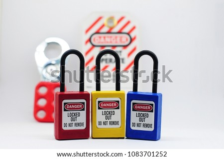 Lock out & Tag out ,Lockout stations , machine - specific lockout devices and lockout point #1083701252