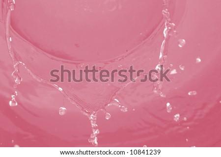 Macro image of water drops #10841239