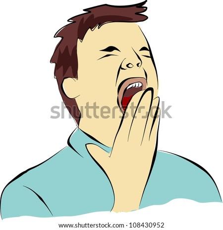 yawn or gape