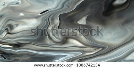 Black and white marble texture photo #1086742154