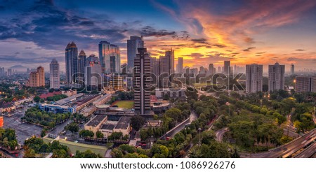 Jakarta officially the Special Capital Region of Jakarta, is the capital of Indonesia. Jakarta is the center of economics, culture and politics of Indonesia #1086926276