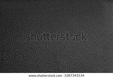 Black leather texture background #1087343534