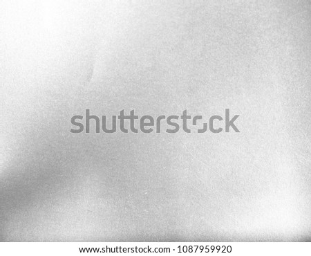 Silver Paper Texture Background #1087959920