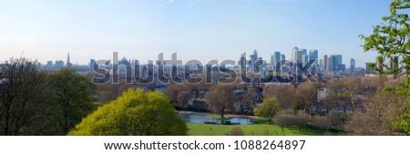 Greenwich Park Panorama #1088264897