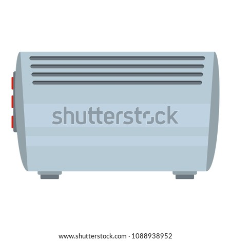 Wall conditioning icon. Flat illustration of wall conditioning icon for web #1088938952