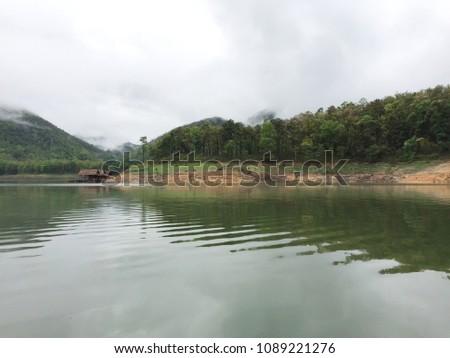 Scenery in the refreshing dam #1089221276