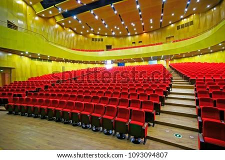 The auditorium seats #1093094807