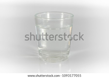 glass water claen cup #1093177055
