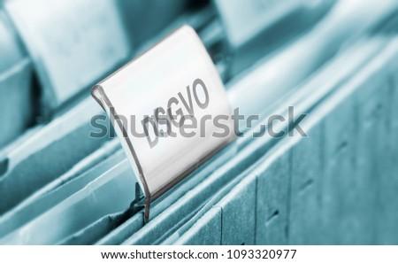 European data protection - symbol #1093320977