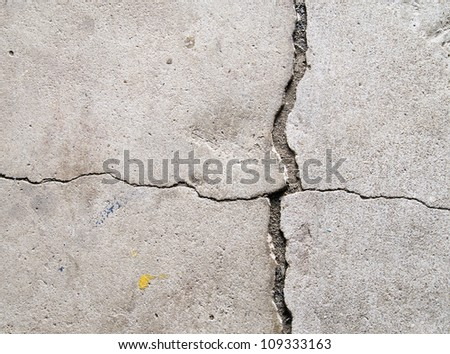 cracked concrete texture background #109333163