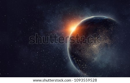 Our unique universe Royalty-Free Stock Photo #1093559528
